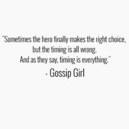 Gossip Girl quote | Gossip Girl | Pinterest | Gossip girls ...