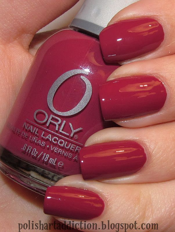 Orly Terra Mauve...one of my new favorite nail polishes | My Style ...