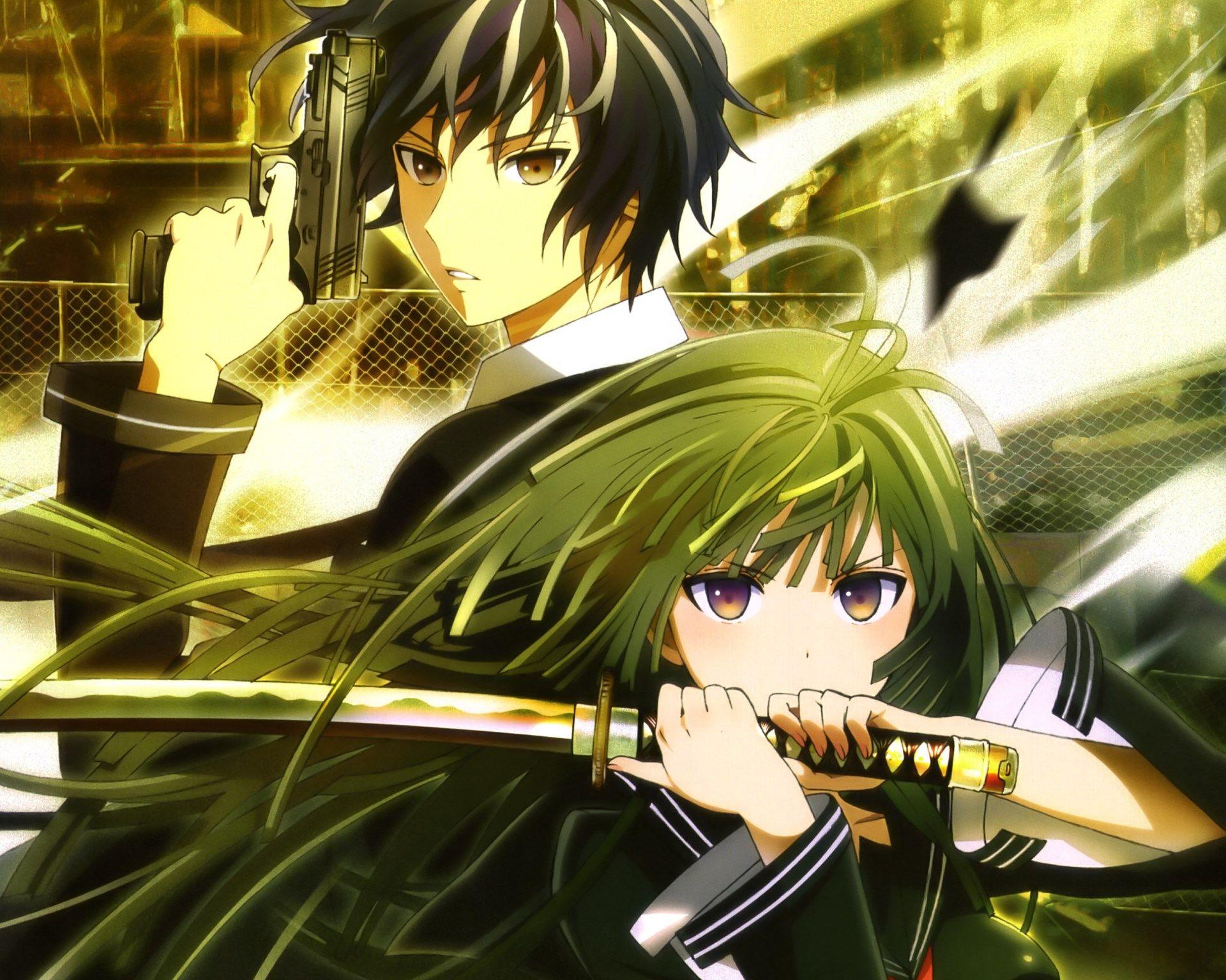 rentaro satomi and kisara tendo. | anime | pinterest | bullet, anime