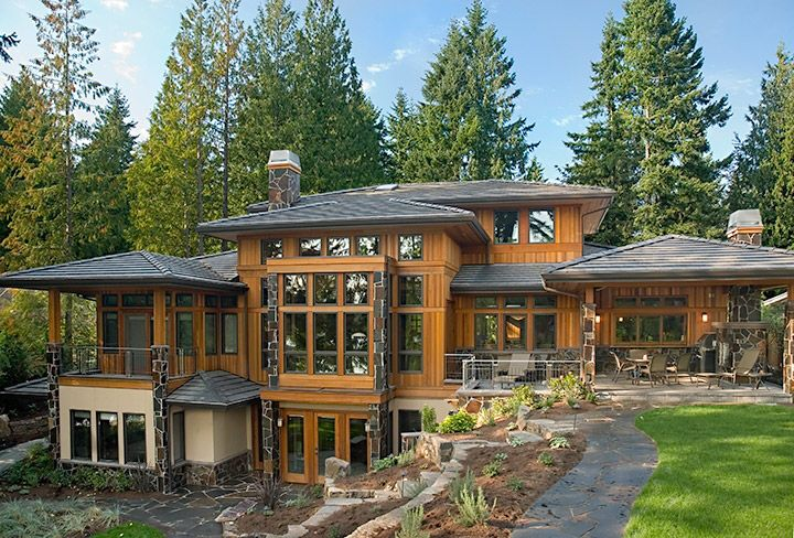 Prairie style architecture macpherson construction and for Contemporary prairie style homes