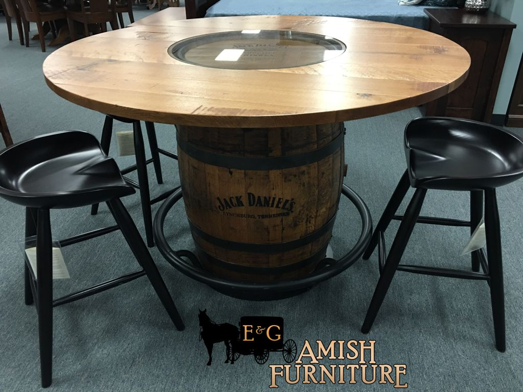Jack daniels barrel pub table perfect for any game room man cave jack daniels barrel pub table perfect for any game room man cave available geotapseo Images