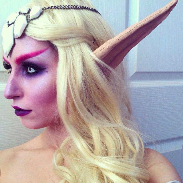 Night Elf Makeup | Saubhaya Makeup