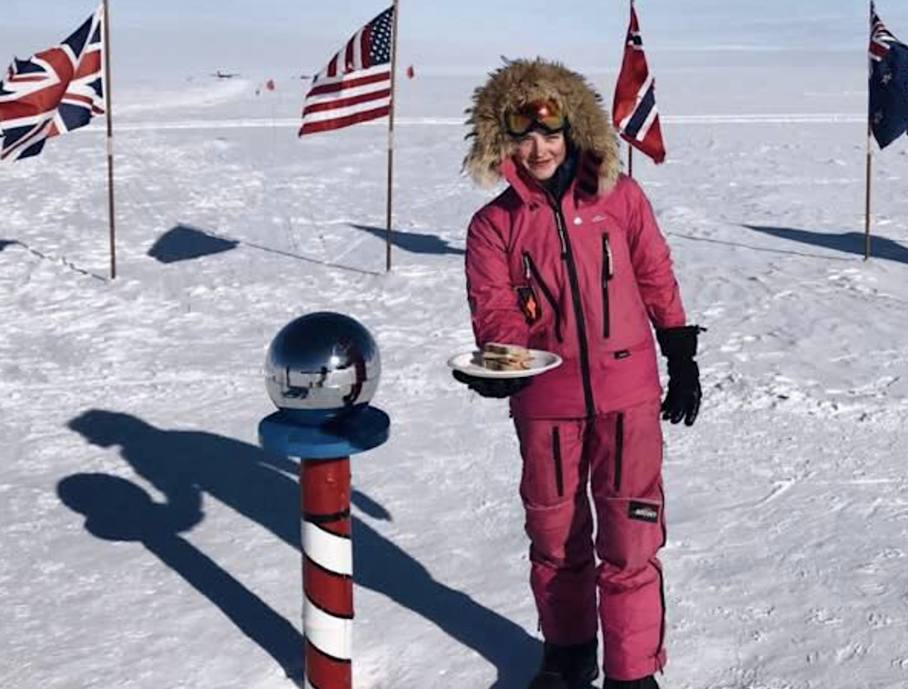 At 16 Explorer Jade Hameister Is The Youngest Person To Ever Complete The Polar Hat Trick By Reaching The North An South Pole How To Make Sandwich 16 Year Old