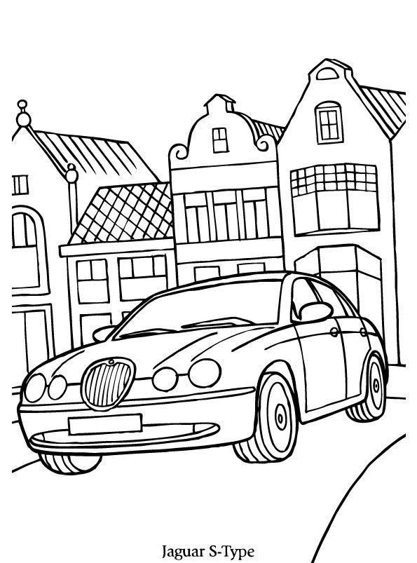 Print Jaguar S Kleurplaat Coloring Collection Jaguar Jaguar S