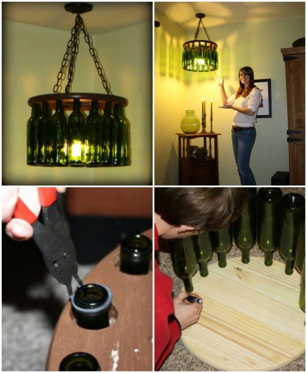 16 genius diy lamps and chandeliers to brighten up your home 16 genius diy lamps and chandeliers to brighten up your home aloadofball Choice Image