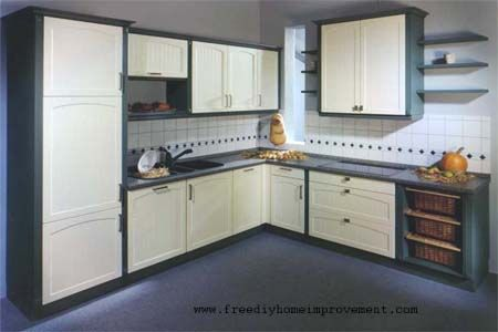 L Shaped Kitchen Design. Image Of L Shaped Kitchen Designs Picture ...