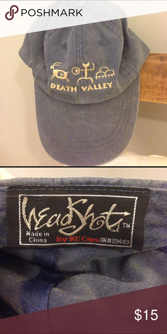 Death Valley Baseball Cap Death Valley Baseball Cap KC Caps Accessories Hats 199352f34f8e