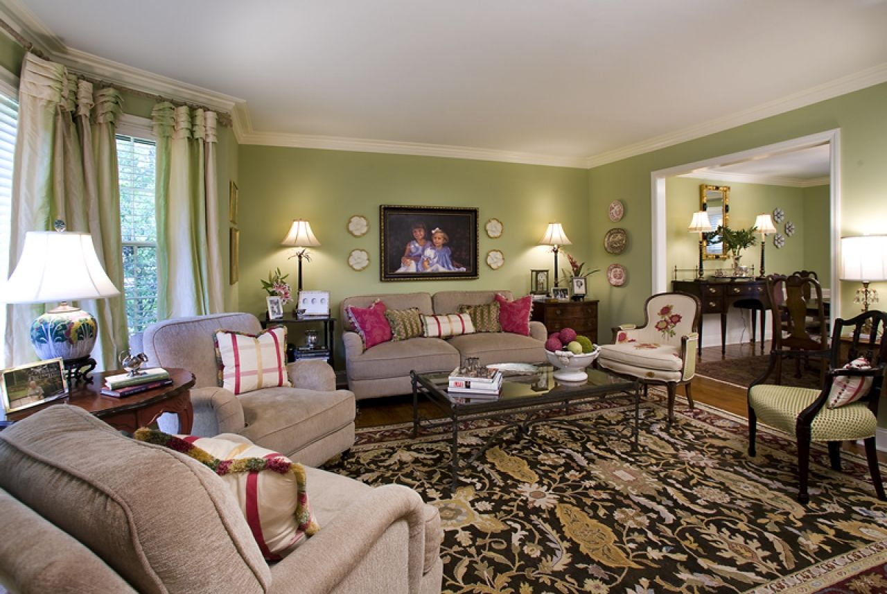 Pin By Amanda Lester On Living Area S Living Room Green Luxury Living Room Design Living Room Color Schemes #olive #green #and #brown #living #room