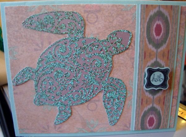 Door County Rubber Stamps   Turtle.