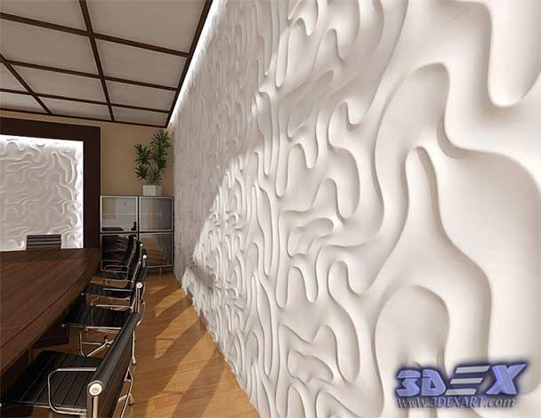 3d Decorative Wall Panels And Covering, Modern 3d Wall