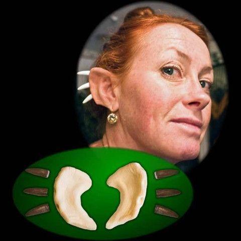 magnus spiked ears horns makeup sfx appliance