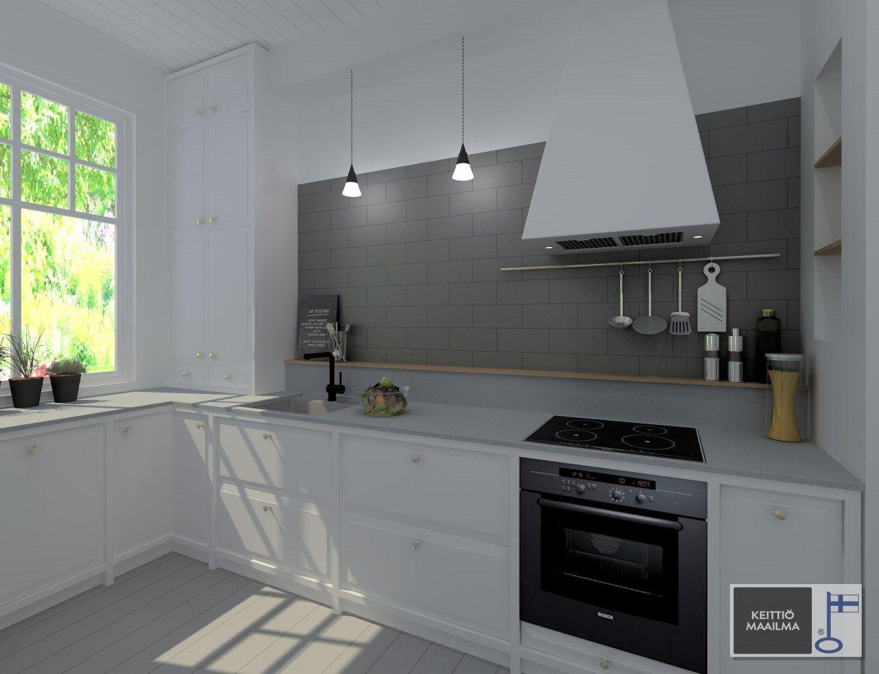 Iloni : Uusi keittiö!