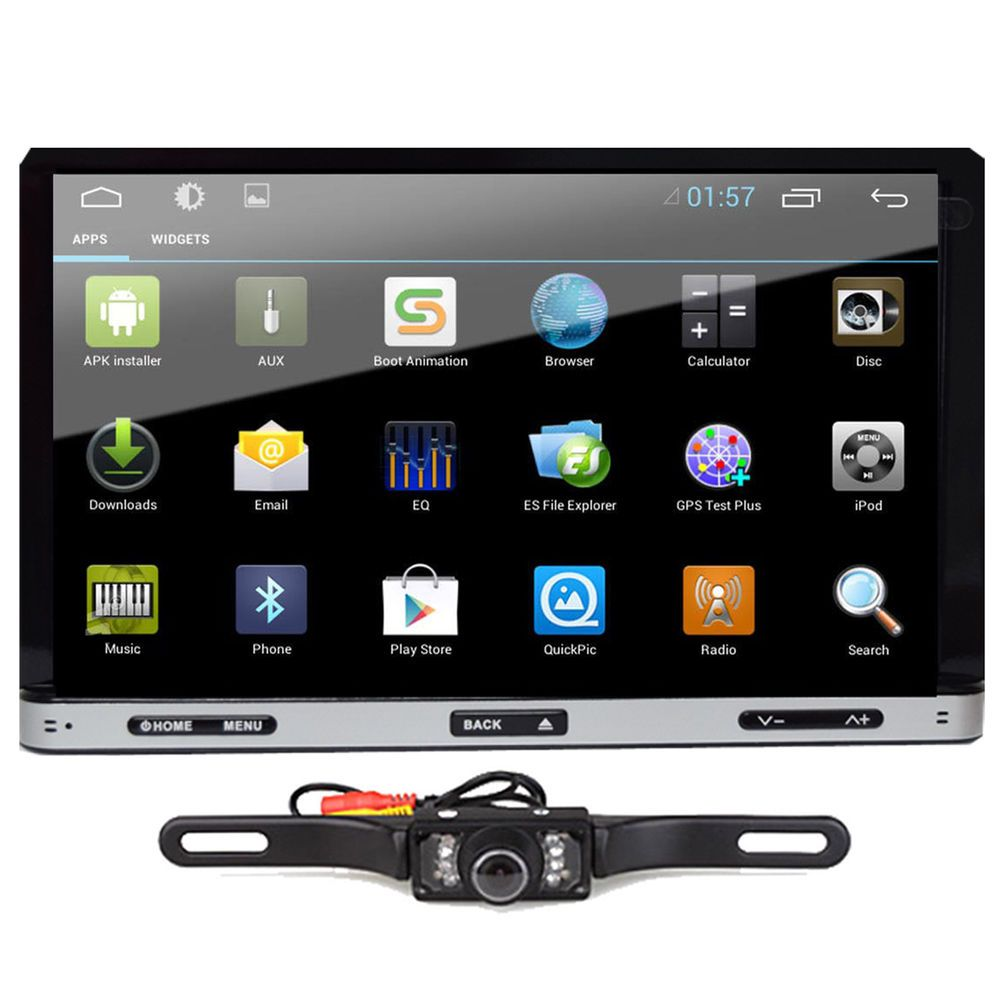 7inch android hd 2din in dash car dvd radio stereo player. Black Bedroom Furniture Sets. Home Design Ideas