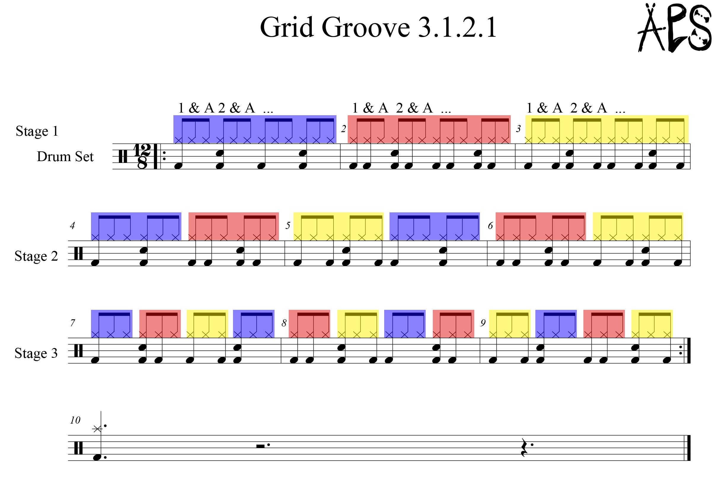 Great for developing some basic blues rhythms and a feel for playing in 6/8