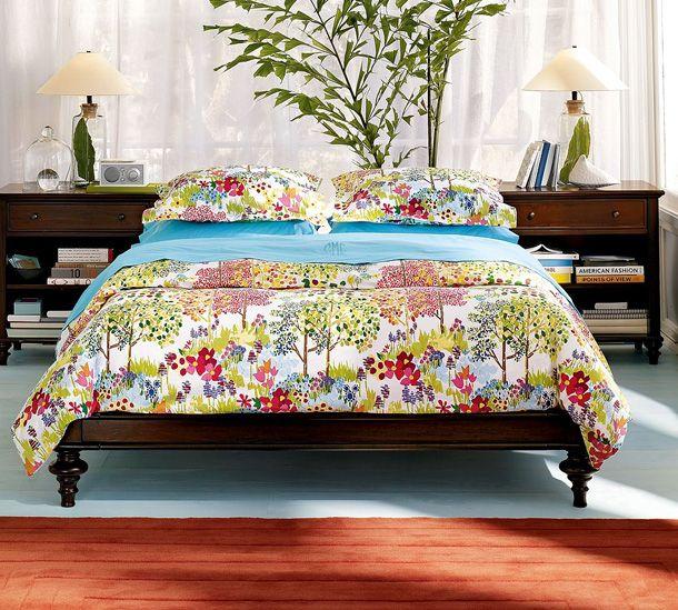 Colorful Diy Platform Bed Organic Duvet Guest Bedroom