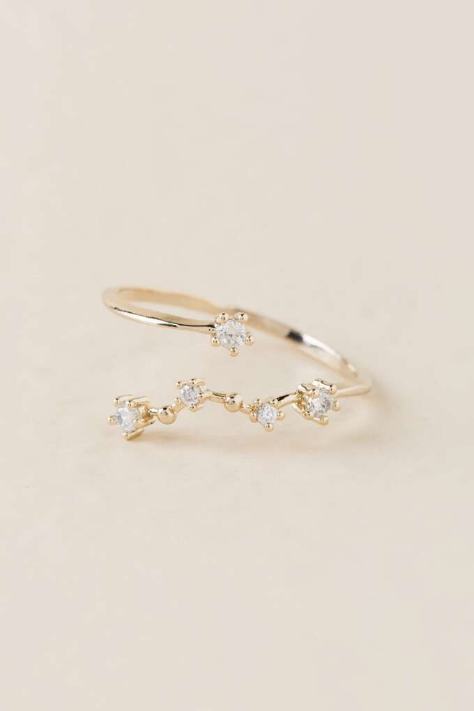 Pisces Constellation Ring Francesca S 12 00 Wardrobe Want In