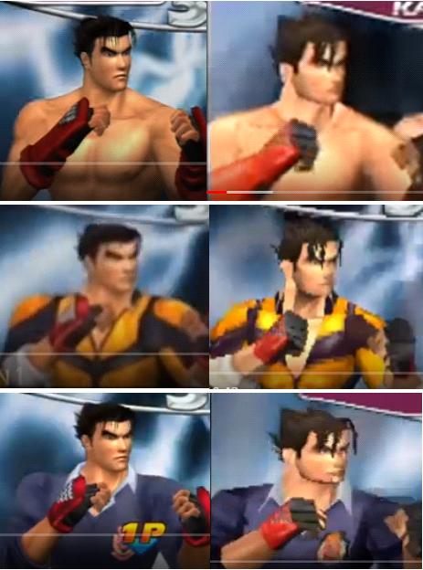 Jin Kazama Outfit On Tekken Tag Arcade Ps2 Game