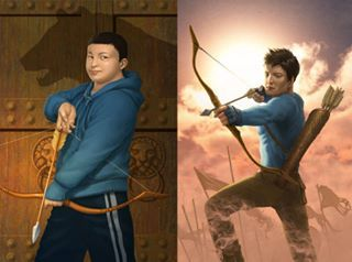Frank Zhang Before And After The Blessing Of Mars Heroes Of Olympus The House Of Hades Frank Zhang Son Of Neptune The Lost Hero