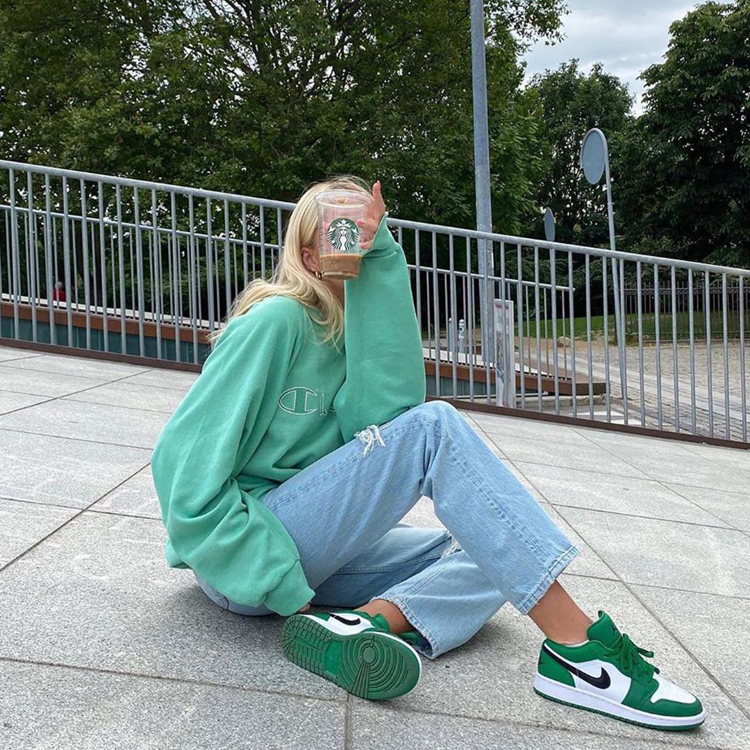 Air Jordan 1 Pine Green Outfit