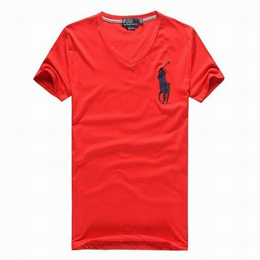 red polo big pony v neck tee for men - Click Image to Close · Polo Ralph  Lauren OutletRalph Lauren ShortsMens TeesV ...