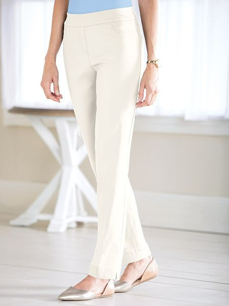 Shop Slimming Solutions Pants and other Womens Pants and Womens Clothing in Misses, Petite, and Plus Sizes.