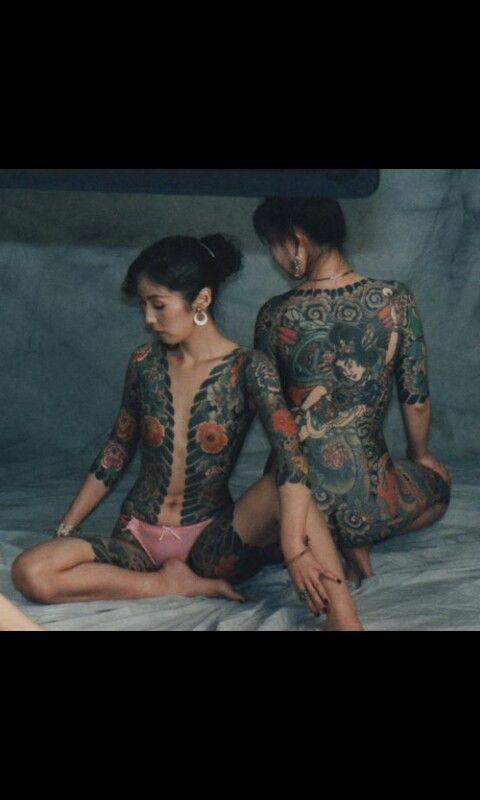yakuza body art