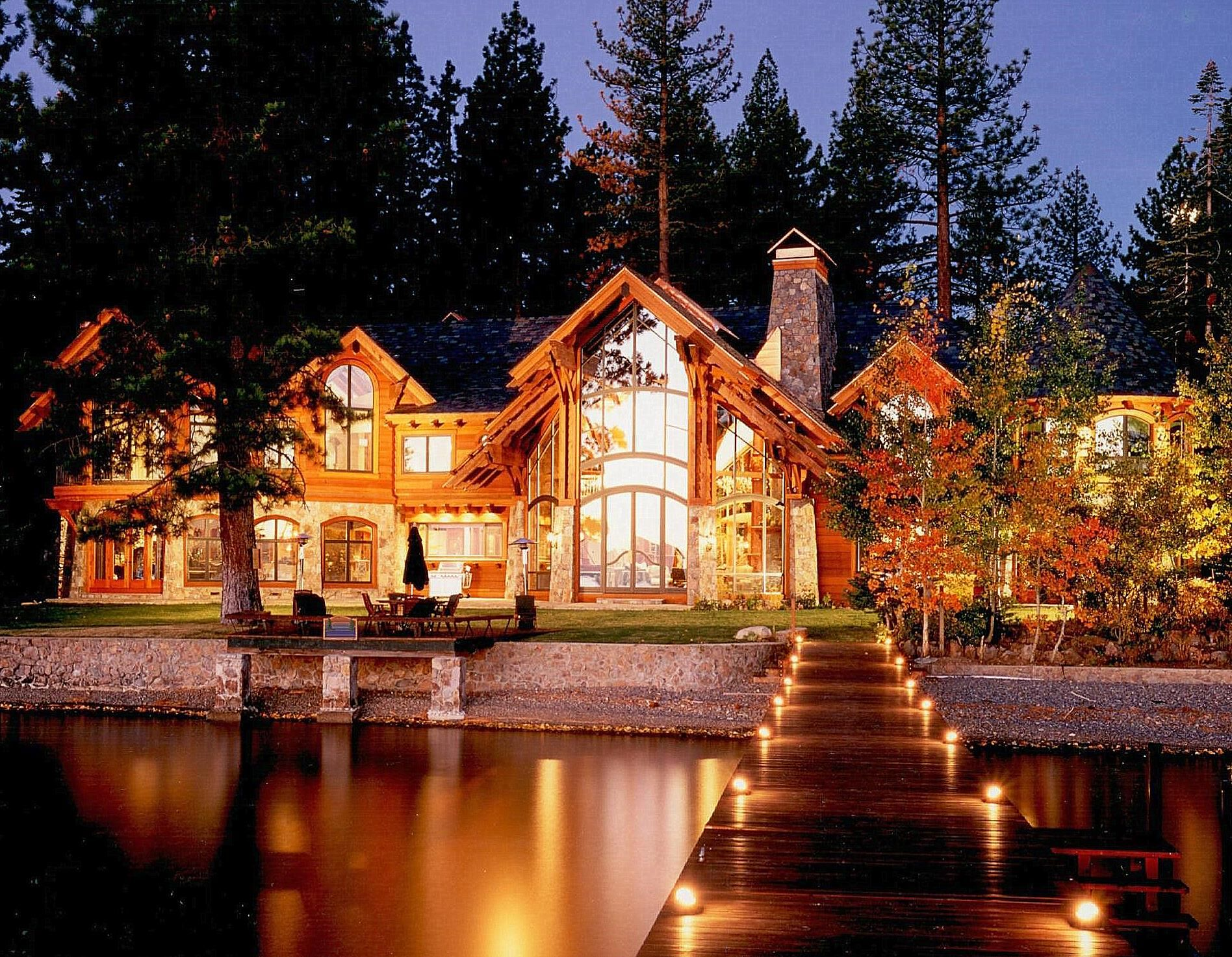 Mountain Architects Hendricks Architecture Idaho Good Quality Architecture Adds Value To Your Home Waterfront Homes Mountain Home Exterior House Design