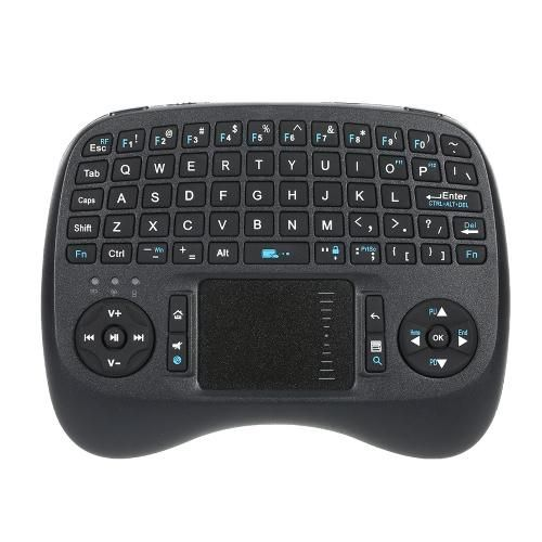 Tomtop Tomtop Ipazzport Wireless Mini Qwerty Keyboard With