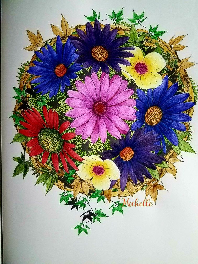 Into The Wild Daisy Fletcher Daisy Tapestry Coloring Pages