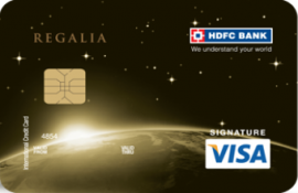 credit card hdfc money back