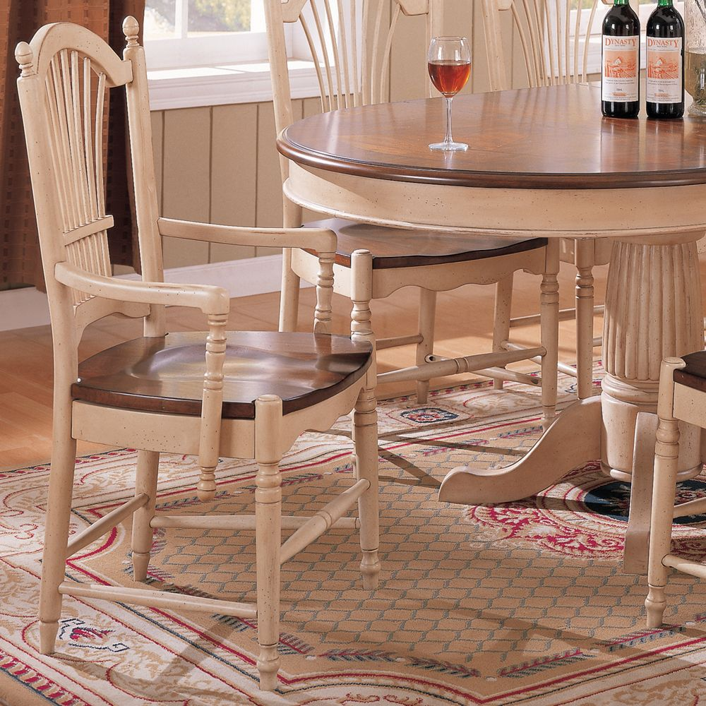 Cottage Round Dining Table With Pedestal Base By Paula Deen By Universal Solid Wood Dining Set Round Dining Room Sets Round Dining Table