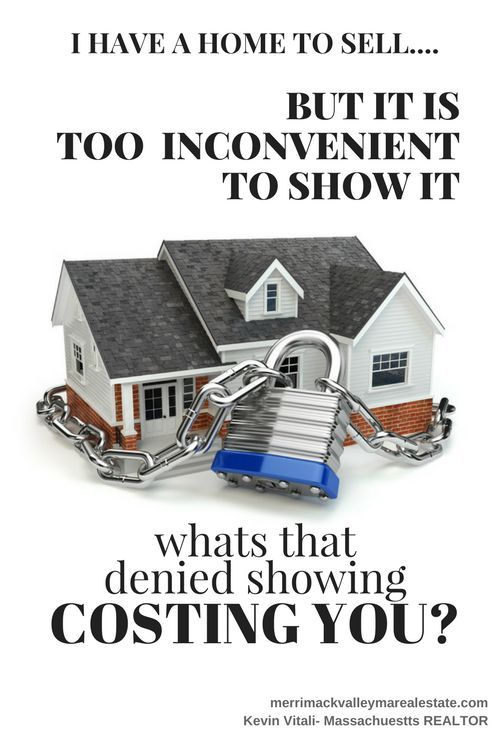 Denying Showings of Your Home? What is Costing You? Real estate - resumes that sell you