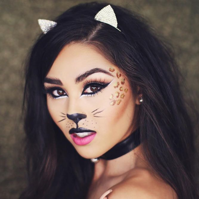21 Halloween Face Makeup Ideas for a Big Party Halloween face - face makeup ideas for halloween