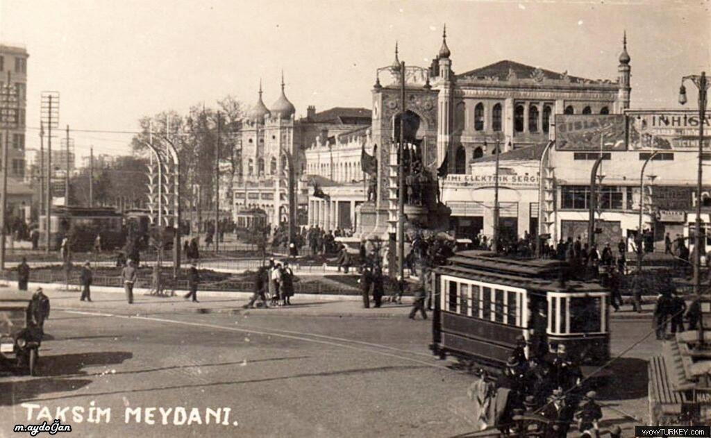 Taksim Meydanı - 1930'lu yıllar