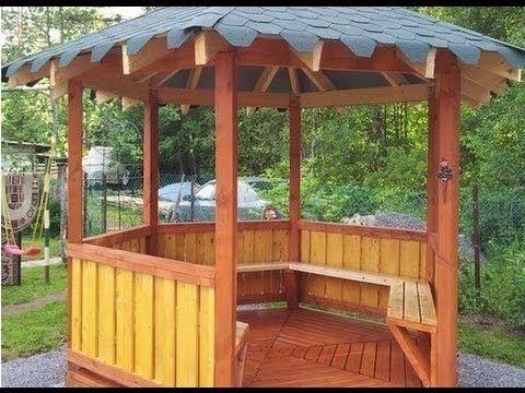 Gartenhaus selber bauen. Gartenhaus bauen. Laube, Pavillon