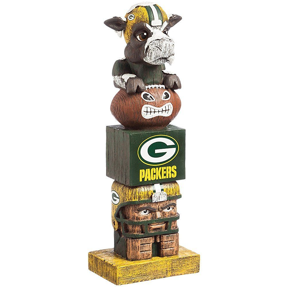 Green Bay Packers Tiki Totem Tiki Totem Green Bay Packers Green Bay