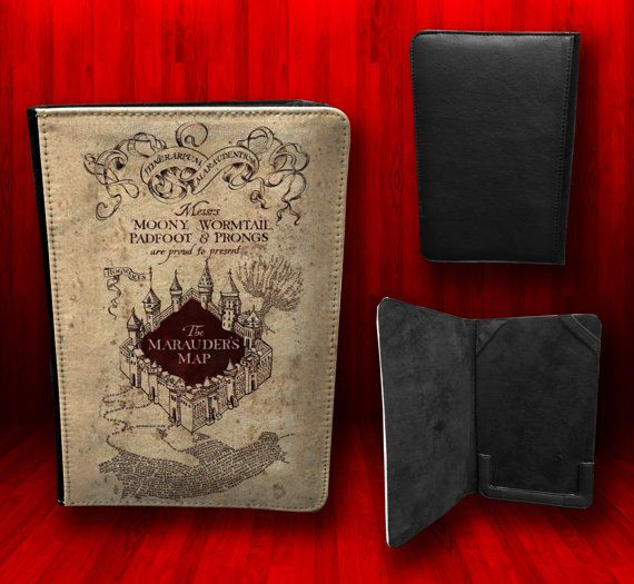 Nook Color and Nook Tab 8.1 - Harry Potter The Marauders Map Tablet ...