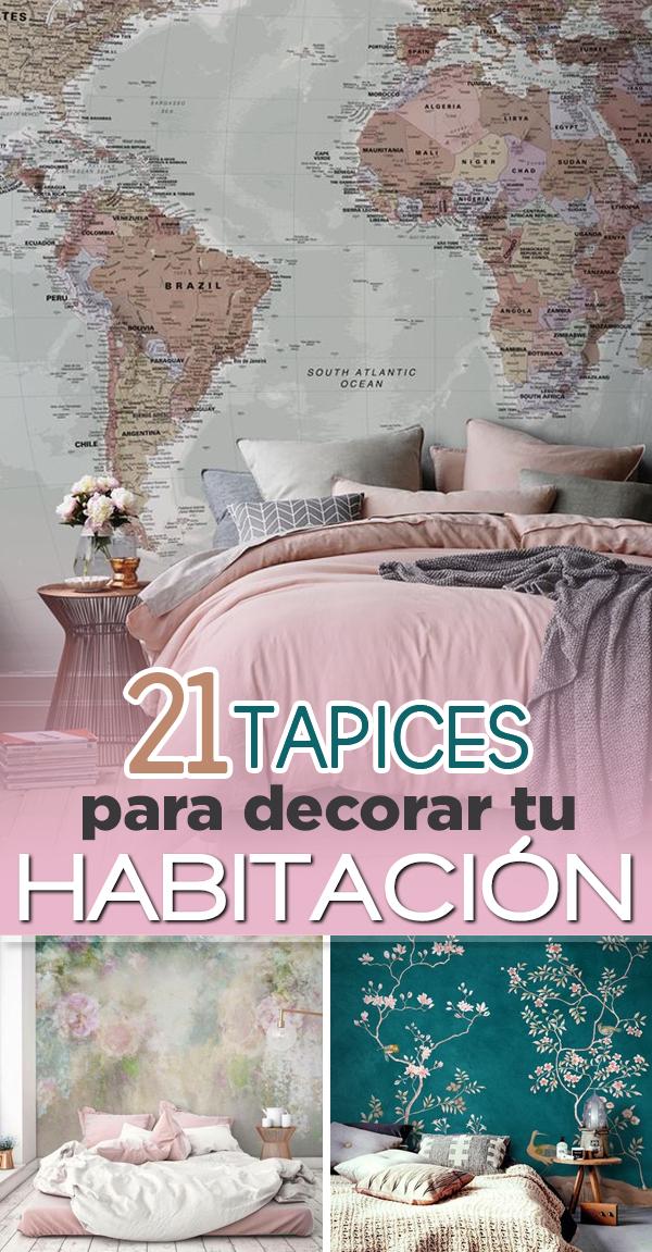 21 Disenos De Papel Tapiz Para Darle Un Toque Original A Tu Habitacion Diseno De Interiores Casa Pequena Disenos De Unas Papel Tapiz
