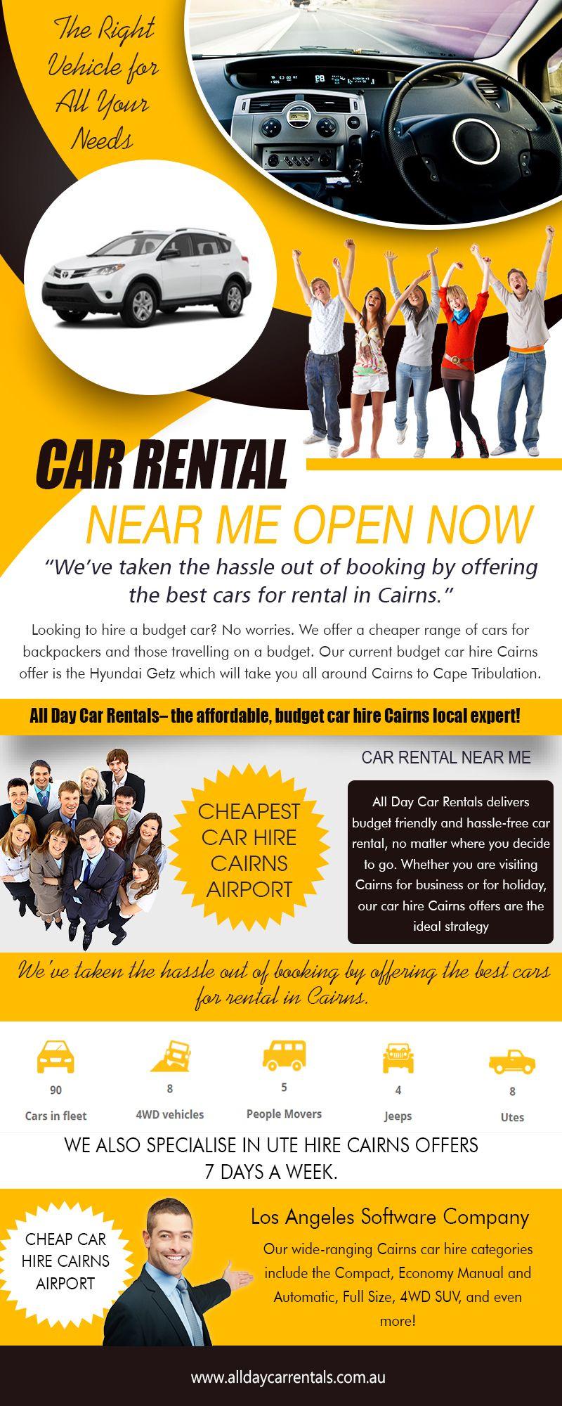 Our Website Http Alldaycarrentals Com Au 4wd Hire Cairns When