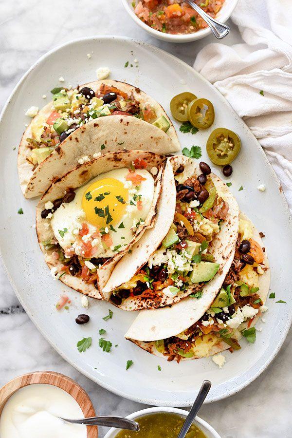 Petit d jeuner tacos recette pour le petit d jeuner brunch ou d ner plat - Recette pour petit dejeuner ...