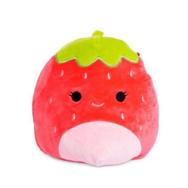 New Squishmallow Strawberry 8 In Mercari In 2020 Fluffy Stuffed Animals Cute Stuffed Animals Kawaii Plush
