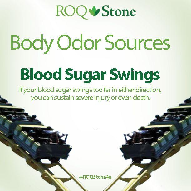 BodyOdor #Sources - Blood Sugar Swings | Body Odor Sources