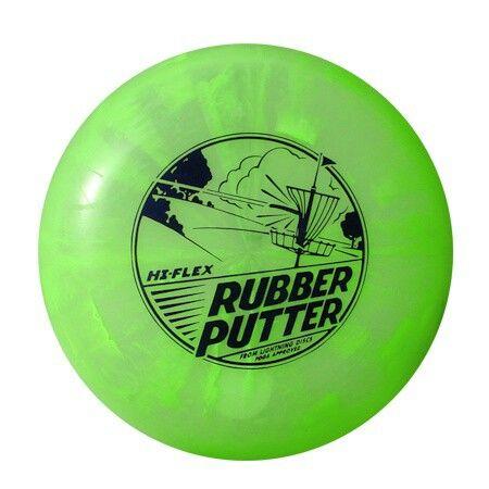 Ideal Lightning Rubber Putter Hi Flex Marbled Chartreuse 166 177g Flex Putter Lightning