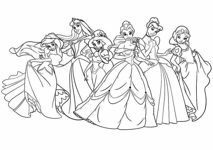 Disney Prinzessin Malvorlagen Zum Ausdrucken