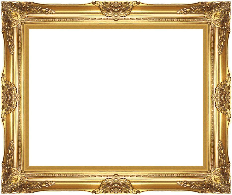Museum Quality Majestic Gold Wood Picture Frame Ready-made Canvas ...
