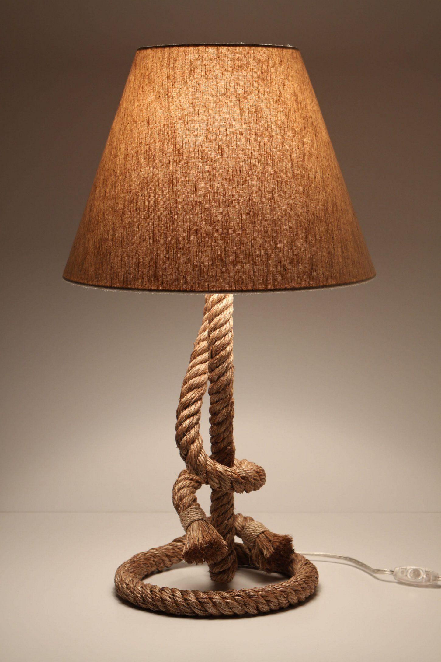 Paused rope lamp