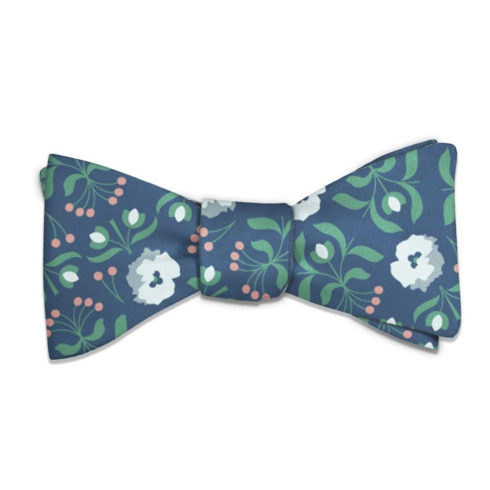 Floral Bow Tie, Floral, Knotty Tie