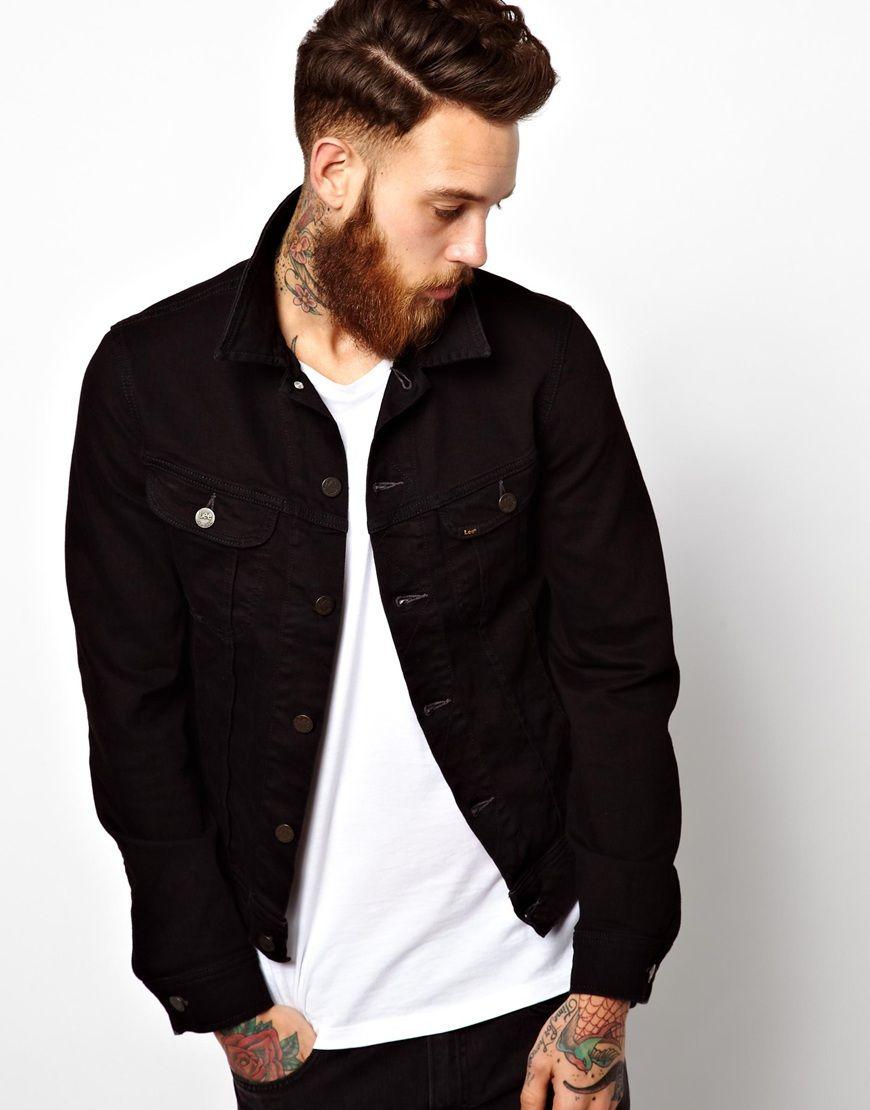 4a0dcd315ffe Schwarze jeansjacke herren levis – Stilvolle Jugendkleidung