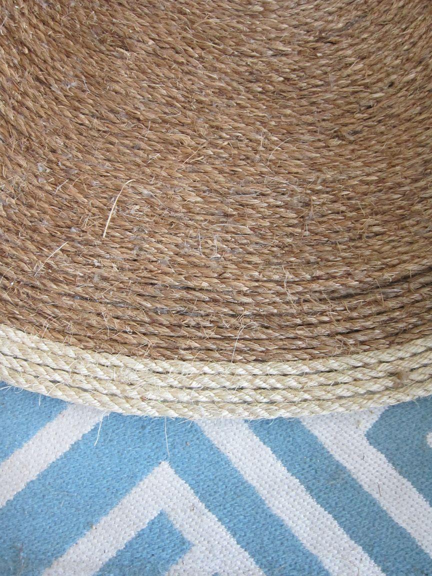 DIY Sisal Rug - | Rope rug, Sisal rugs and Sisal