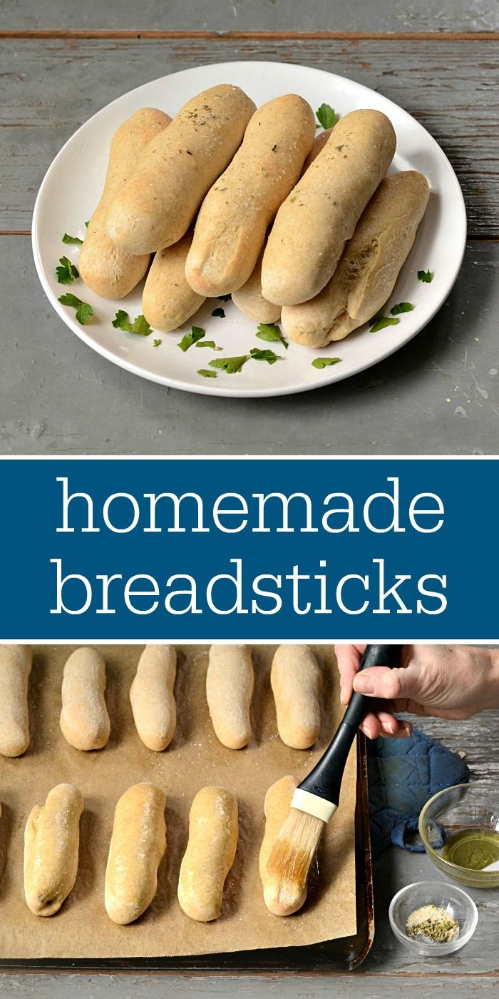 You have to try these homemade breadsticks! They're the